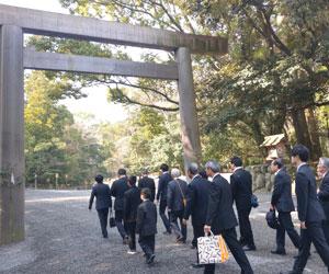 伊勢神宮正式参拝(3月下旬)